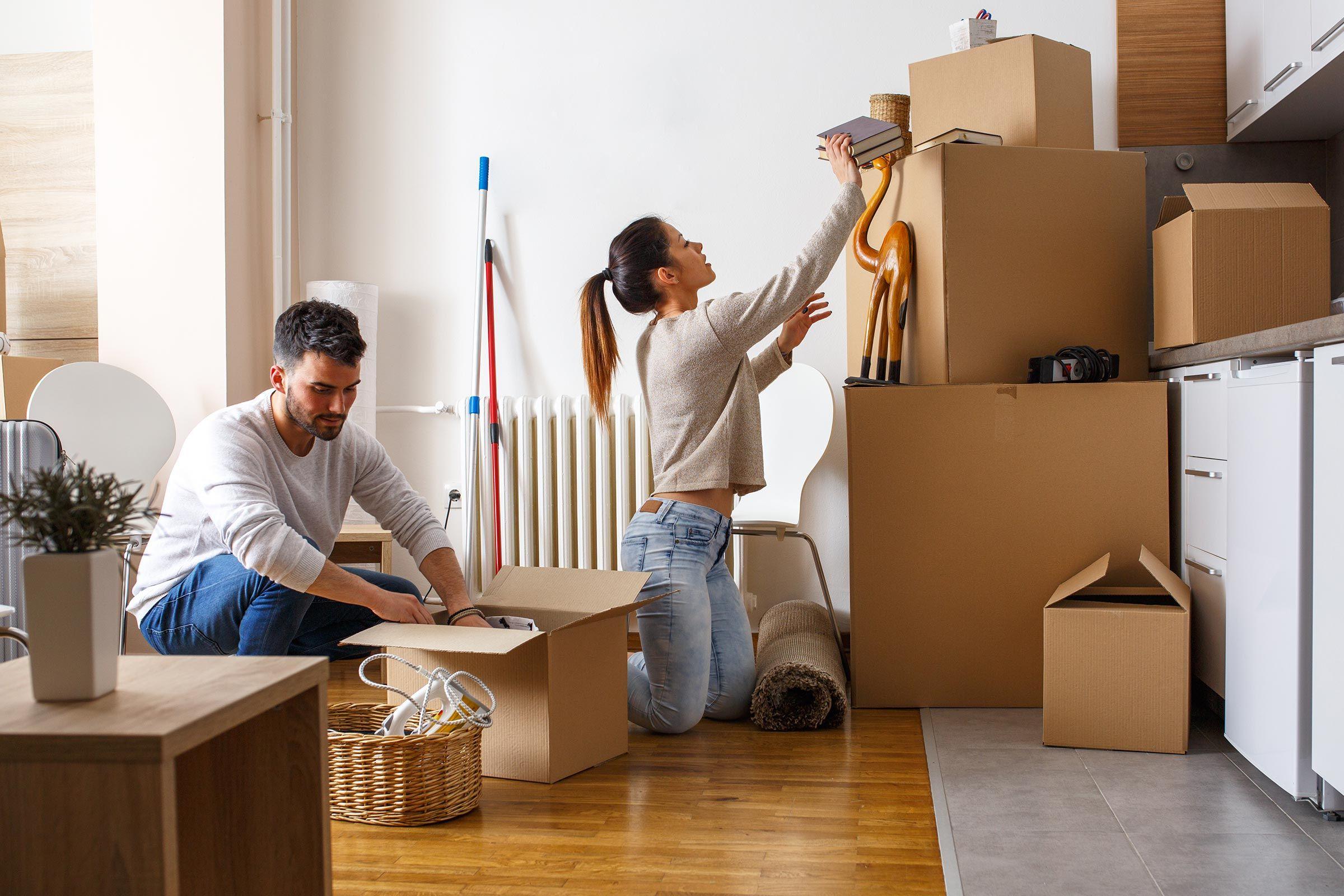 Переезд с квартиры
