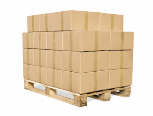 Перевозка грузов с использованием паллет