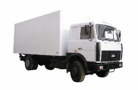 КАМАЗ (изотермический кузов)