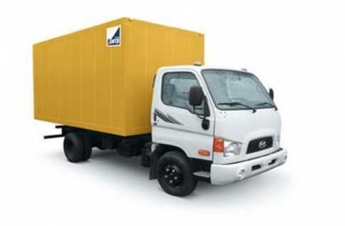 Hyundai HD 78 (мебельный фургон)