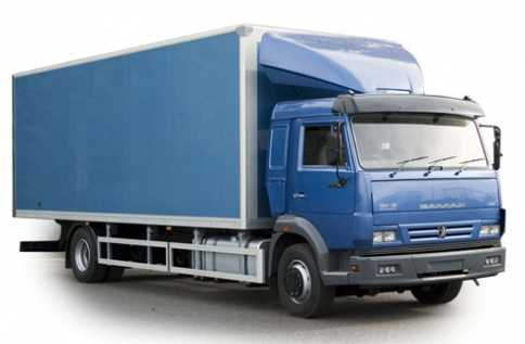 Камаз 10т (мебельный фургон)