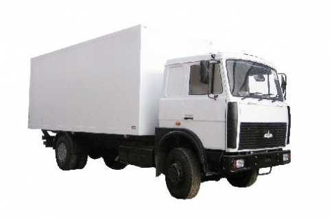 МАЗ 10т (изотермический кузов)